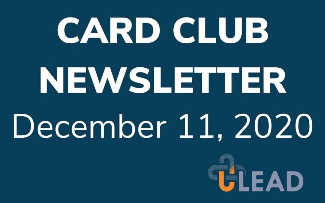 ULEAD Card Club – The Gift of Encouragement ??
